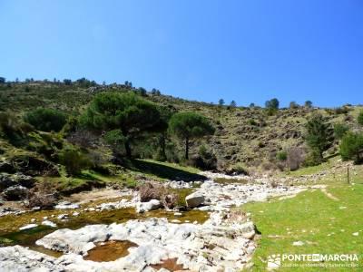 Valle de la Pizarra y los Brajales - Cebreros; rutas por la sierra de madrid circo de gredos la pane
